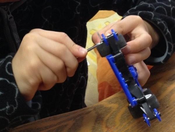TOYz BAR☆ARシャーシ用マスダンパーセットをMAシャーシのフロントに付ける方法