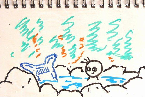 ミニ四駆シャーシの歪み取り方法、熱湯でリラックスしてドライヤーで仕上げてバッチリ!ってお風呂かいな?
