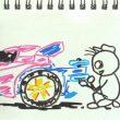 TOYz BAR☆ミニ四駆、どノーマルMAシャーシのリヤーローラー取り付け位置でタイムは変わるかな?