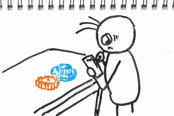 ミニ四駆のギヤの歯数はデジカメとパソコンを使えば簡単に数えられるよ。ギヤ比を計算する方法。
