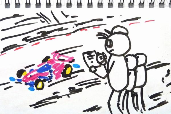 ジャパンカップジュニアサーキットとiPhoneアプリを使った、我が家のミニ四駆タイム計測方法。