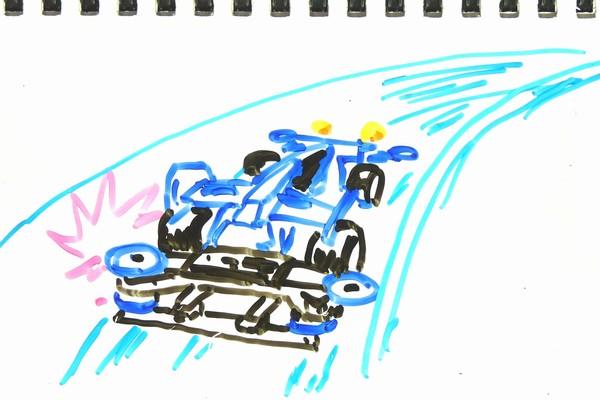 小学4年生SiSO-Jr.1、リアワイドスライドダンパー購入。動作原理に感心するも効果に悩む今日この頃。