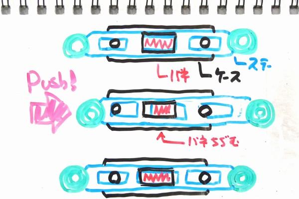 TOYz BAR☆ミニ四駆、リヤワイドスライドダンパー