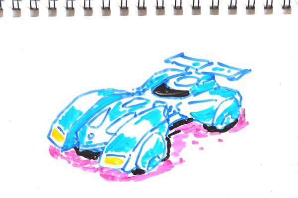 TOYz BAR☆ミニ四駆・バックブレーダー、ポリカボディのカット
