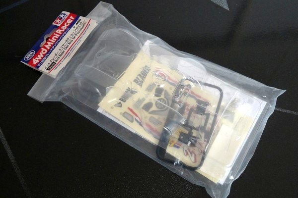 TOYz BAR☆ミニ四駆、バックブレーダー・クリアボディをMAシャーシに載せる方法