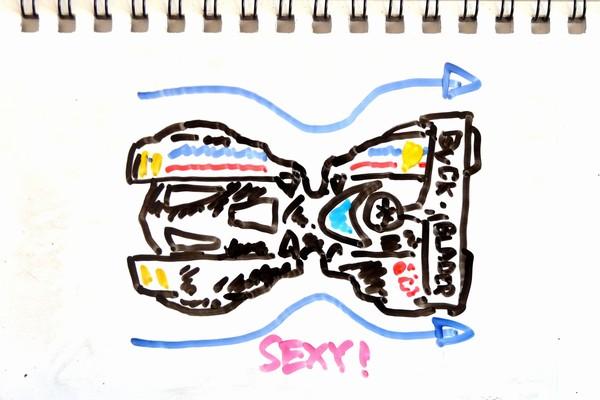 TOYz BAR☆ミニ四駆・バックブレーダーってかっこいい!