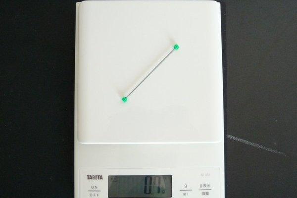 TOYz BAR☆ミニ四駆・中空軽量プロペラシャフト重量
