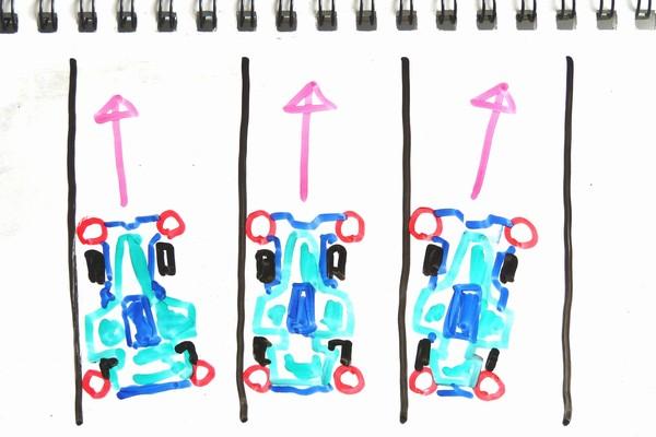TOYz BAR☆ミニ四駆・ローラーセッティングの基本3種。
