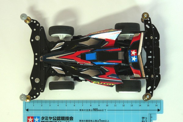 TOYz BAR☆ミニ四駆・ロングノーズのローラーセッティング、ソライヌ構造を妄想中。