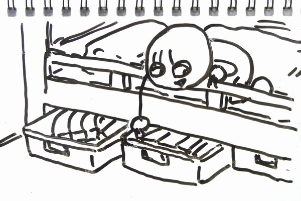 ミニ四駆ジャパンカップジュニアサーキットの収納、ニトリのキャスター付ベッド下収納ボックス3つで収納する方法がおすすめ。