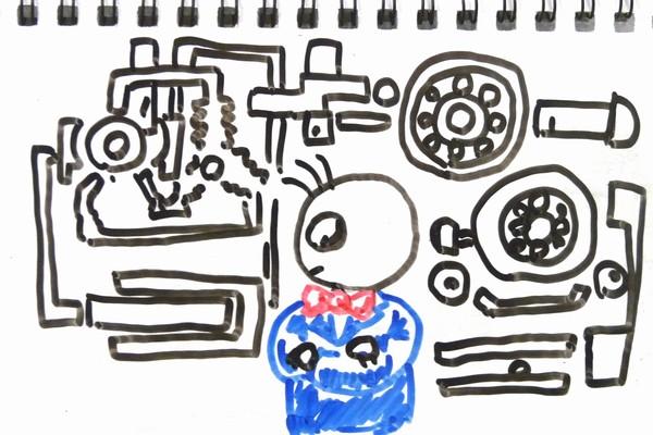 TOYz BAR☆ミニ四駆・100均グッズでベアリング慣らし機、5分で製作。