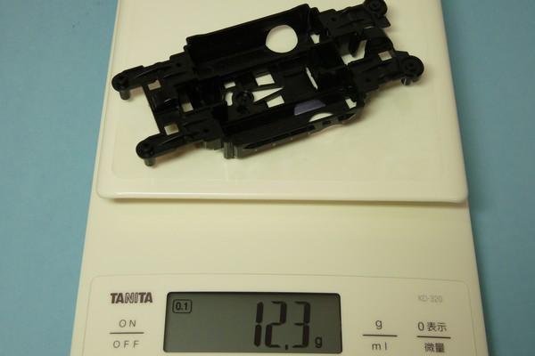 TOYz BAR☆ミニ四駆・MS軽量センターシャーシ比較・重量