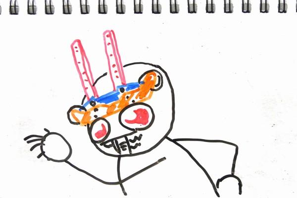 TOYz BAR☆ミニ四駆・ソライヌ構造ロングノーズなフロント周り妄想中。