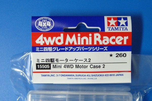 TOYz BAR☆ミニ四駆・タミヤ 15505 ミニ四駆モーターケース2。両軸モーター対応。