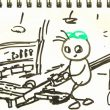 TOYz BAR☆ミニ四駆・FRPステーをカッターのこIIでカット。簡単簡単!