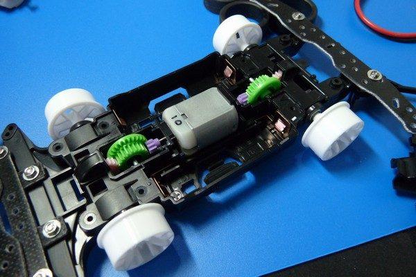 TOYz BAR☆ミニ四駆・定電圧電源でMSシャーシのブレークイン