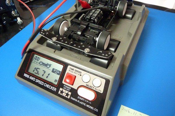 TOYz BAR☆ミニ四駆・超速ギヤとハイスピードEXギヤをスピードチェッカーで比較