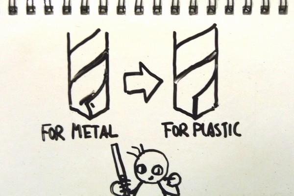 作業時間1分でOK!ミニ四駆を加工するために100均ドリルを樹脂用ドリルに100均道具で改造してみるよ。簡単でおすすめ。