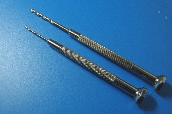 TOYz BAR☆ミニ四駆・金属用ドリル刃を簡単加工で樹脂用ドリル刃に改造。