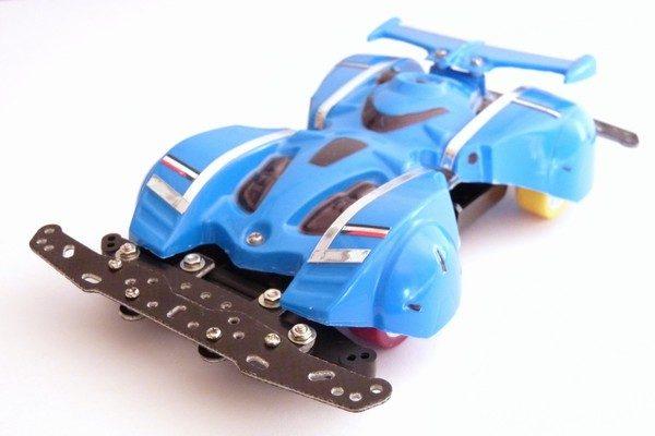 TOYz BAR☆ミニ四駆・どノーマルならMAシャーシのハードタイヤ装備のミニ四駆きっとかな