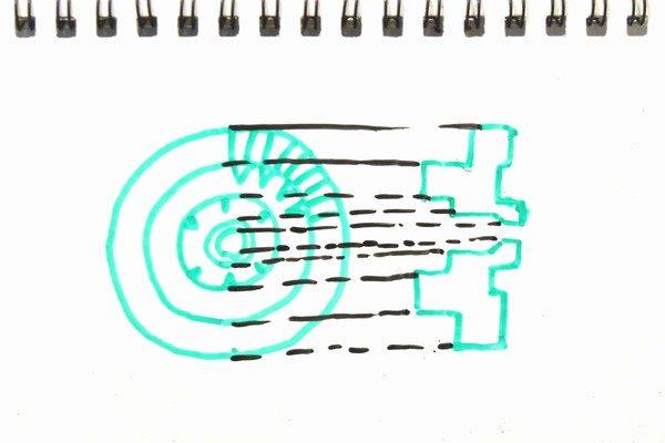 TOYz BAR☆ミニ四駆・MS/MAシャーシ用カウンターギヤを抵抗抜きする方法
