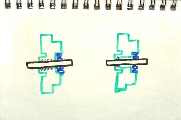 ミニ四駆カウンターギヤの抵抗抜き、簡単に精度よく加工できる方法を考案。いい感じで加工できた!