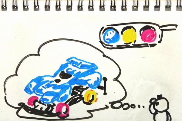 ミニ四駆のカウンターギヤ抵抗抜き比較計測最終版と、タイヤはローハイトオフセットトレッドタイヤのハードとかどうかな?とか。