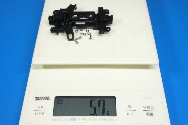 TOYz BAR☆ミニ四駆・強化ギヤカバーの重量などをノーマルと比較