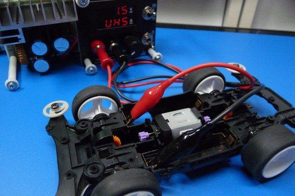 TOYz BAR☆ミニ四駆・アトミックチューンモーターPROの低電圧ブレークイン