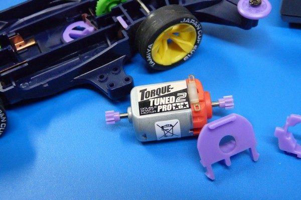 TOYz BAR☆ミニ四駆・トルクチューンモーターPROをスピードチェッカーで計測