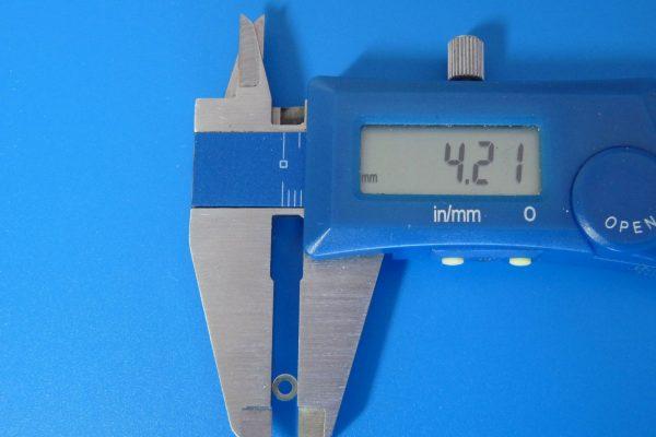 10309 AO-1038 ミニ四駆 2mmワッシャー小 (20個)/ミニ四駆グレードアップパーツ・外径