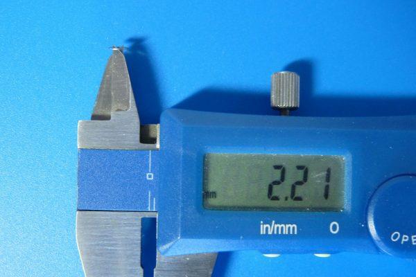 10309 AO-1038 ミニ四駆 2mmワッシャー小 (20個)/ミニ四駆グレードアップパーツ・内径