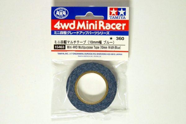 TOYz BAR☆ミニ四駆GUP 15463 ミニ四駆マルチテープ (10mm幅 ブルー)・パッケージ写真