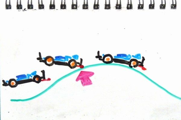 TOYz BAR☆ミニ四駆・ブレーキ効能セッティング妄想中。リヤブレーキはジャンプ時に有効?