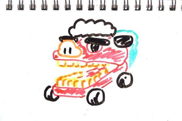 TOYz BAR☆ミニ四駆、ボディ・マスダンパーのSiSO的イメージ。