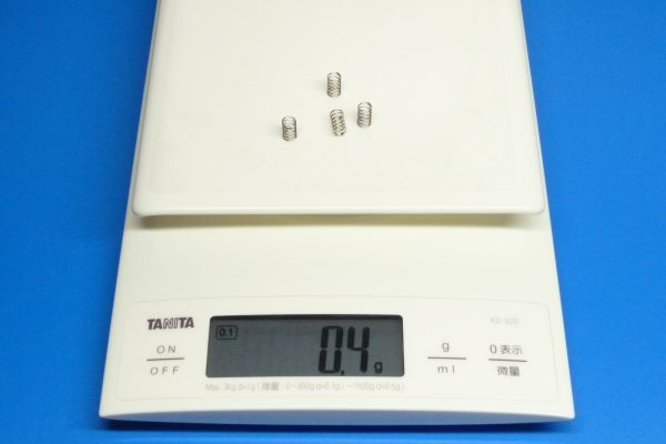 TOYz BAR☆ミニ四駆GUP 10305 AO-1034 ミニ四駆スライドダンパースプリングセット。スプリング(強・銀)。重さ。