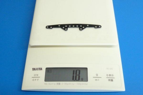 TOYz BAR☆ミニ四駆GUP 15242 スーパーXシャーシ・FRPマルチ強化プレート。重さ。