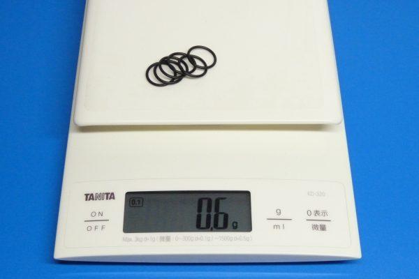 TOYz BAR☆ミニ四駆GUP 94792 AO-1021 17・19mmローラー用ゴムリング (6pcs.) 重さ