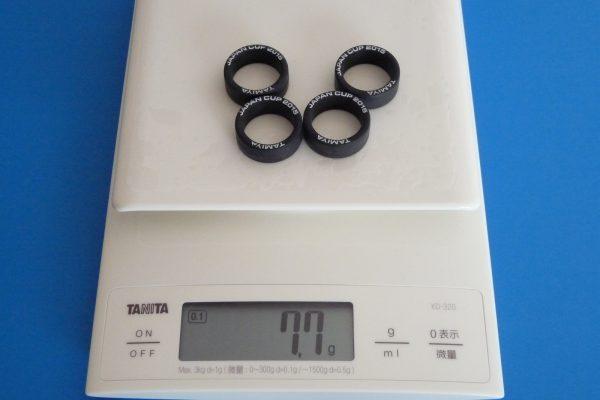 TOYz BAR☆ミニ四駆 アバンテMk.Ⅲ付属スーパーハード ローハイトタイヤ。重さ。