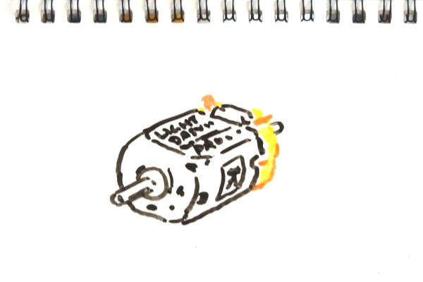 ライトダッシュPROモーターを9V乾電池で高電圧ブレークイン(ミニ四駆GUP15402)。3.0Vで18,492rpm→21,802rpm 。
