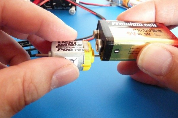 TOYz BAR☆ミニ四駆 ライトダッシュモーターPROを9V高電圧ブレークイン