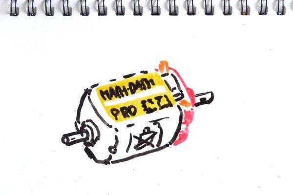 マッハダッシュPROモーターをのんびりブレークイン(ミニ四駆GUP15433)。3.0Vで30,442rpm→31,492rpm 。なんかすっきりしない。