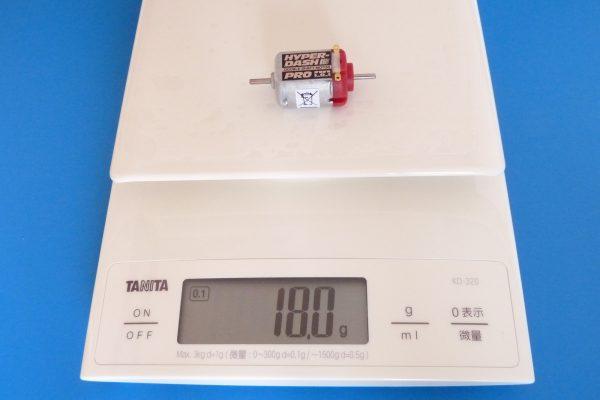 TOYz BAR☆ミニ四駆GUP 15375 ハイパーダッシュモーターPRO。重量測定。
