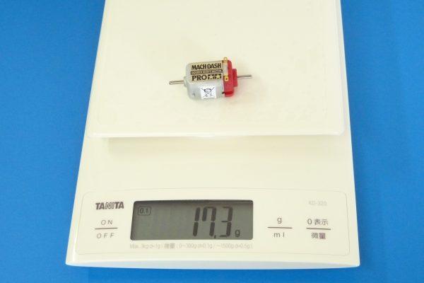 TOYz BAR☆ミニ四駆GUP 15433 マッハダッシュモーターPRO。重さ計測。