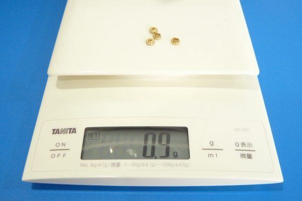 TOYz BAR☆ミニ四駆GUP 94381 AO-1002 メタル軸受けセット。重量測定。