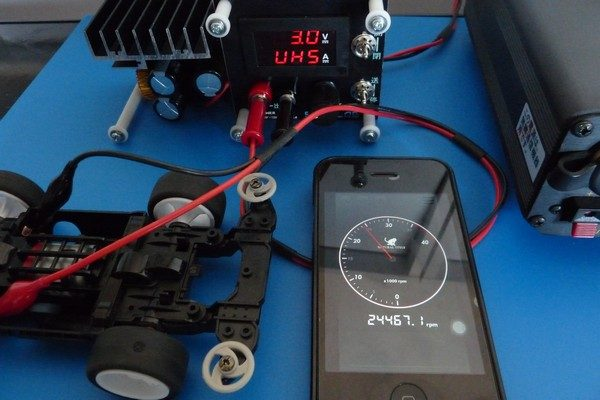 TOYz BAR☆ミニ四駆 マッハダッシュモーターPRO、低電圧ブレークイン。