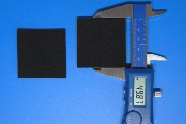 TOYz BAR☆ミニ四駆GUP 15441 ブレーキスポンジセット。黒色ブレーキスポンジ。サイズ測定。