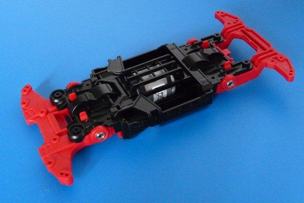 TOYz BAR☆ミニ四駆 15411 N-04・T-04強化ユニットへの520ボールベアリング取り付け。