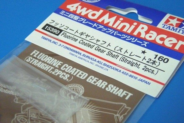 TOYz BAR☆ミニ四駆 フッソコートギヤシャフトで速くなるのか実験。