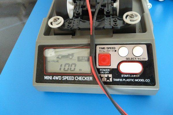 TOYz BAR☆ミニ四駆 フッソコートギヤシャフトで速くなるのか実験。スピードチェッカー。